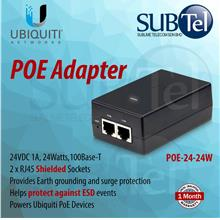 POE-24-24W Ubiquiti Power over Ethernet POE Adapter 24V 24W UBNT