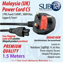 UK Malaysia Power Cord for Ubiquiti - FreeShipping with Other Purchase