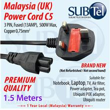 UK Malaysia Power Cord for Ubiquiti