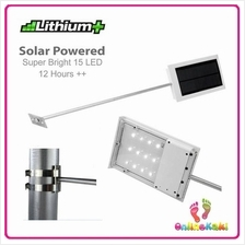 15 LED High Brightness Solar day/night Auto Street Light /Garden Light