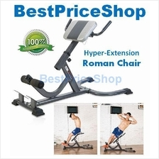 Hyper Extension Roman Bench Chair Six Packs Hip Fast Slim Back Pain