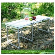 Portable Foldable Aluminium Table Camping Outdoor Table 60x180 1.8m