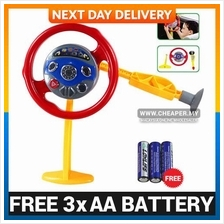 Electronic Backseat Driver Steering Educational Toy - Sounds Lights