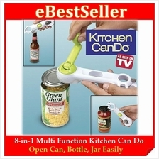 OPEN ALL Kitchen Tool Containers Mugs Beer Sauce Kitchen CanDo Opener