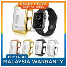 Apple iWatch Series 1 2 i Watch Metal Plating Case Cover Casing