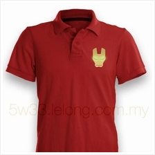 Iron Man Red Polo Shirt