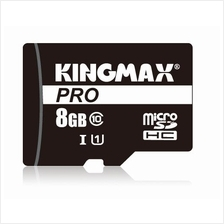 100% Genuine Kingmax Micro SD PRO Memory Card 8gb Class 10 80mb/s