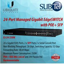 ES-24-250W Ubiquiti Edge Switch POE+ 24 port SFP 802.3at UBNT Malaysia