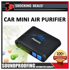 Car Mini Air Purifier (Phisinic FAP-121) Black Color Edition
