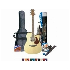 ASHTON SPD25CEQ Acoustic Guitar With Pickup (NEW) - FREE SHIPPING