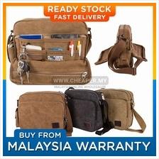 Stylish Multi Compartment Canvas Bag/Messenger Bag/Shoulder Bag)