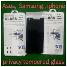 asus zenfone 2 5 clear diomond Privacy tempered glass screen protector