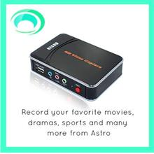 EZCAP HD Video Capture - Records To Your Hard Drive