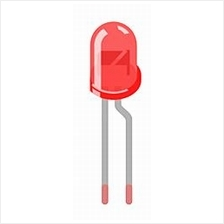 Electronic Component - LED 5MM (RED)*