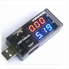 Dual Display Charging monitor Doctor USB Power Current Voltage Tester