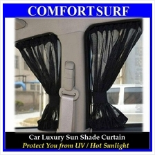 UV Protection Car Vehicle Luxury Sun Shade Net Cloth Curtain