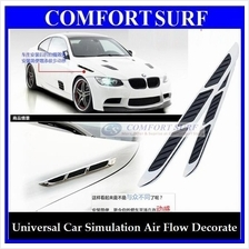 Universal Car Simulation Air Flow Vent / Shark Side Decorative