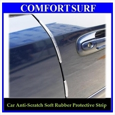 Car Side Door Protect Anti Scratch 8pcs Soft Rubber Strip Protective