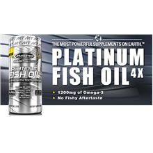MuscleTech PLatinum Fish Oil Omega DHA 100 Caps (Health+Immune)