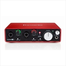 FOCUSRITE Scarlett 2i2 (2nd Gen) - 2-In / 2-Out USB Audio Interface