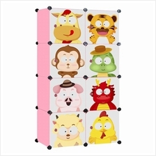 Living Cabinet 8 Cubes Easy DIY Zodiac Cartoon Wardrobe