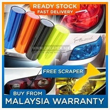 FREE SCRAPER Car Headlight Taillight Tint Vinyl Film Sticker 13 color