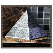 Alloy Pyramid Ashtray Gift Decoration