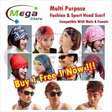 Multipurpose Outdoor Sport Bike Cycling Man / Ladies Head Scarf)