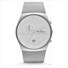 SKAGEN SKW6071 Men's Havene Chronograph Mesh SS Bracelet Silver
