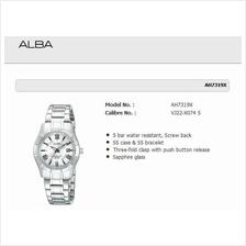 ALBA . AH7319X . Prestige . Pair . W . Date . Sapphire . SSB . Silver