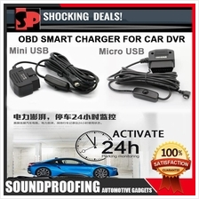Smart OBD DVR Charger (Active 24 Hour Car Parking Mode)