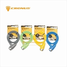 [CRONUS.MY] CRONUS E-KEY SAFETY CABLE LOCK BICYCLE ACCESSORIES