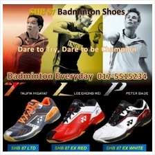 SHB 87 ex ltd Badminton Sport Shoes Kasut (Japan)badminton