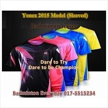 YN 2015 model Badminton Shirt Baju Jersey (Japan)badminton