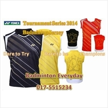 YN Tournament Series Badminton Shirt Baju Jersey (Japan)badminton