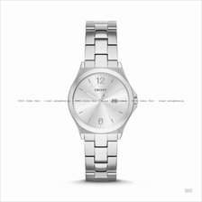 DKNY NY2365 Women's Parsons Classic Date SS Bracelet Silver