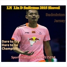 LN Lin D Sudirman 2015 Badminton Baju Jersey Shirt (China) badminton