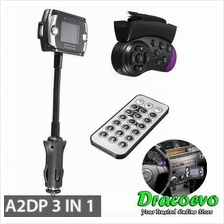 A2DP Car Kit Wireless Bluetooth FM Transmitter MP3 Player Handsfree