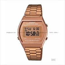 CASIO B640WC-5A STANDARD Digital popular retro SS bracelet bronze