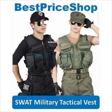 SWAT Tactical Outdoor Protection Vest Army Military Hunting Paintball