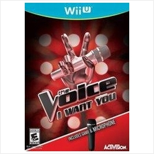 The Voice Bundle with Microphone Wii U PS3
