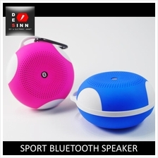 Bluetooth Sport Speaker FM Radio TF Card Mic Hands Free