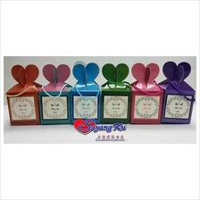 WEDDING DOOR GIFT BOX 10 PCS PER PACK