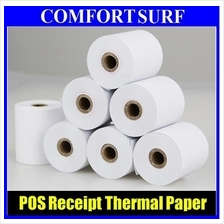 POS Cash Register Thermal Receipt Paper 57x50mm / 80x50mm For Printer