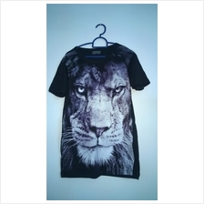 3D Shirt (Lion, Cheetah, Wolf)