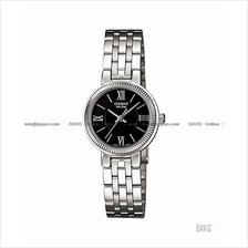 CASIO LTP-1375D-1AV STANDARD Analog classic SS bracelet black