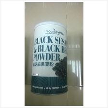 Black Sesame + Black Bean Super Organic Powder (USA FORMULA)1kg Total