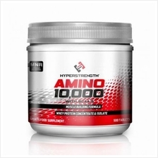 Hyper Strength Amino10000mg 500tabs (Build Muscle,Recover,Hardness)
