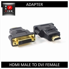 DVI 24+5 Pins Female to HDMI Male Gender Changer Adapter Converter /pc