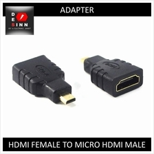 HDMI Female to Micro HDMI Male Gender Changer Adapter Converter /pc
